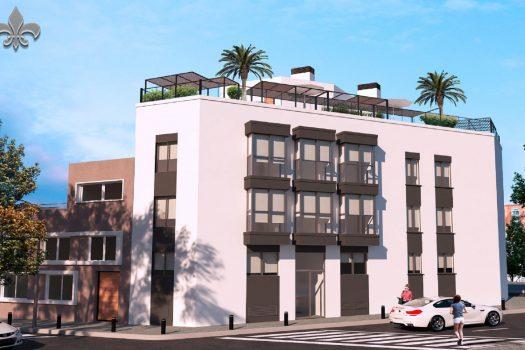 Edificio de obra nueva en Alcorcón - Edificio santo Domingo: 12 viviendas de 1 y 2 dormitorios