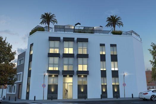 Edificio Santo Domingo en Alcorcon - inmobiliaria de la Rosa - Obra nueva